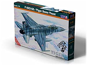 "MisterCraft D de 115 - Maqueta de F de 16cj de 52 + ""Tiger Demo Team New"