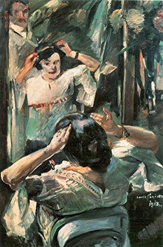 Das Museum Outlet-Bevor die Spiegel von Lovis-Korinth, gespannte Leinwand Galerie verpackt. 96,5x 121,9cm Turner Spiegel