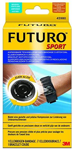 """Futuro, FUT45980, Supporto per gomito con dispositivo di regolazione personalizzata """"Custom Dial"""""""