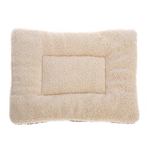 vyage (TM) morbido lavabile cucciolo di cane gatto letto pad mat cuscino reversibile in pile (Reversibile Mat)