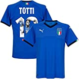 Italien Home Trikot 2018 2019 + Totti 10 (Gallery Style) - M