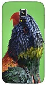 Timpax protective Armor Hard Bumper Back Case Cover. Multicolor printed on 3 Dimensional case with latest & finest graphic design art. Compatible with Samsung Galaxy S-5-Mini Design No : TDZ-25975