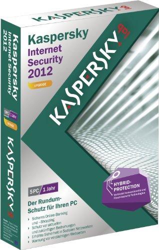 Kaspersky Internet Security 2012 5 Lizenzen Upgrade