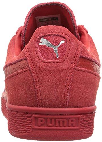 Puma Suede Classic + Mono Daim Baskets High Risk Red-Puma Silver