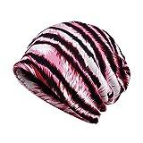 YWLINK Damen Wrap Indien Muslim Stretch Turban Sternenhimmel Drucken Hut Kopftuch