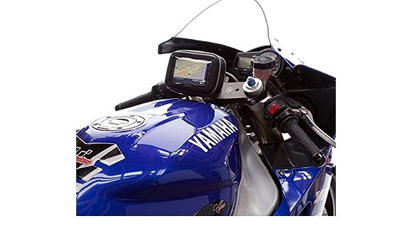 13 3 Mm 14 7 Mm Gabel Joch Motorrad Halterung Mit Wasserdichtem Zentrierwinkel Schutzhülle Mit Stiel Für Bis Zu 12 7 Cm S Navigon Gps Navigation