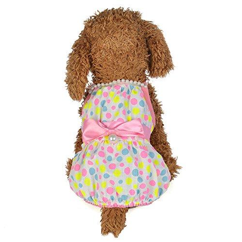 Schuhe Pudel Rock Kostüm - Pet Rock,Pearl Sling Dress Dog Kostüme Hunde Bekleidung,Hund Kleid Prinzessin Brautkleider Hundekleider Hochzeit,Prinzessin-Kleid für Hunde Pet Rock Kleidung Supplies (Rosa, S)