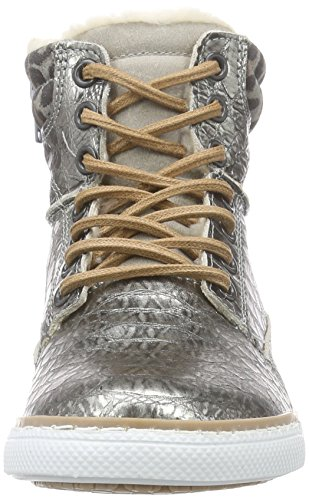 Bullboxer Agm503e6l, Baskets fille Argent - Silber (GNGY)