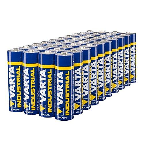 Varta Industrial Batterie AA Mignon Alkaline Batterien LR6-40er pack, Made in Germany (Alkaline-aa-batterien)