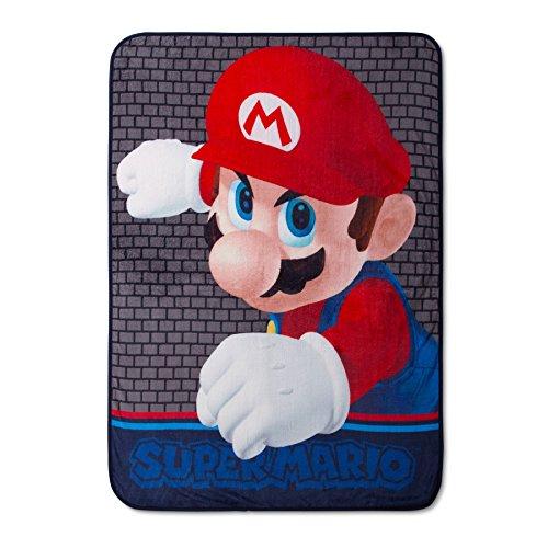 Unbekannt Super Mario Brothers Kinder Überwurf Decke Plüsch 46x 60