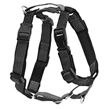 PetSafe 3 in 1 Harness and Car Restraint, Extra Small, Black, No Pull, Adjustable, Training for small / medium / large dogs