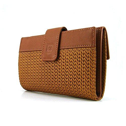 Cartera para mujer, perfecto para regalo, hecho en España, marca casanova, hecha en piel de vacuno, Ref. 47116 Cuero