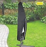 Fachhandel Plus Komfort Schutzhülle für runde Ampelschirme mit Einem Ø von 200-400cm, 405595