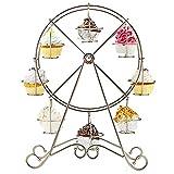 Fellibay Cupcake-Ständer Kuchenständer Tortenständer Riesenrad Cupcake-Ständer