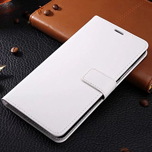 Wkae Case Cover Huawei Mate8 Fall feste Folio magnetische Design Flip Brieftasche Stil Fall Farbmuster PU-Leder-Abdeckung Standup-Abdeckungsfall für Huawei Mate8 ( Color : Brown , Size : Huawei Mate8  White