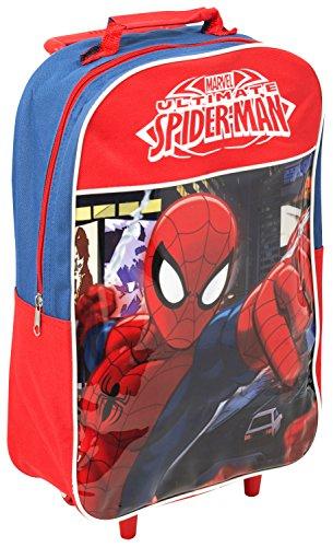 Galleria Farah1970–Rucksack Spiderman Rucksack Junior Disney Spiderman Trolley 41x 28x 12–Spiderman yeks–Gemacht mit Lizensiert (Galleria Grünen Teppich)
