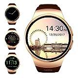 Evershop Bluetooth Smart Watch, 1.5 inches IPS Round Touch Screen Smartwatch SIM
