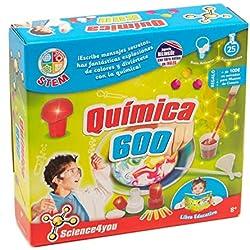 Science4you - Química 600 - Juguete científico y educativo (480343)