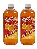 2x 1 L Orangenreiniger Orangenölreiniger Universalreiniger Orangenöl Allesreiniger