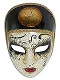Masque vénitien Volto Pierrot pour Hommes et Femmes