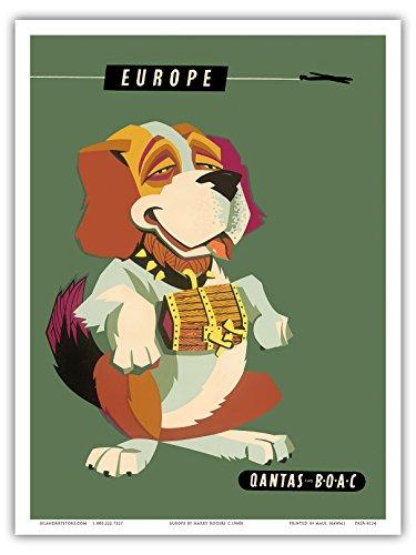 europa-san-bernardo-perro-qantas-empire-airways-qea-boac-british-overseas-airways-corporation-vintag