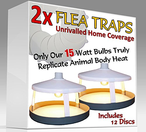 2x-ultimate-flea-traps-by-medipaqr-12-sticky-discs-the-only-15-watt-trap-on-amazon-truly-replicates-