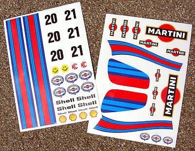 ro-line Traxxas sticker aufkleber (Martini-schalen)