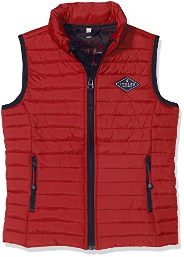 joules Jungen Crofton Weste, Rot Red, 104