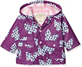 Best Buds Clothes - Hatley Baby Girls' Mini Printed Raincoat, Purple Review