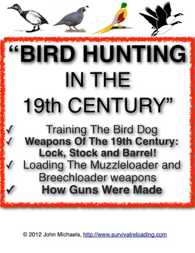 Ebooks Bird Hunting In The 19th Century | A Sportsman's Guide To Bird Hunting Descargar PDF