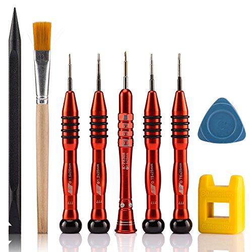 Preisvergleich Produktbild MacBook Reparatur Werkzeug Kit, 9 in 1 Magnetischer Schraubendreher Set für alle Apple iPad/MacBook Pro/MacBook Air and MacBook