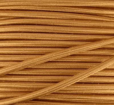 Textilkabel, Stoffkabel, Lampen Kabel Strom, 3-adrig, 3x0,75mm², GWH-Gold von Globe Warehouse bei Lampenhans.de