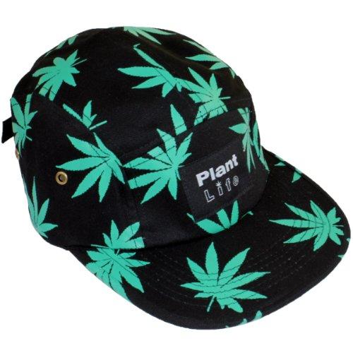 plantlife Cap Kappe Hanf Farbe schwarz/grün - Hanf Cap