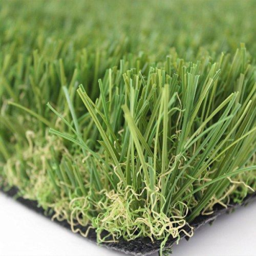 Prato sintetico 30mm manto erboso finta erba giardino tappeto Largo 1Mt x 1 Metri Lineari