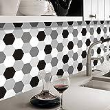 Hongrun Badezimmer Sind Mit Fliesen Aufkleber Wasserfest Selbstklebend Küche Wohnzimmer Sockelleisten Line Wall Mount Anti-Öl Kreative Schlafzimmer 3D, Aufkleber, H 04,20 Cm * 5 M