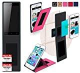 Gionee P5w Hülle Cover Case in Pink - innovative 4 in 1