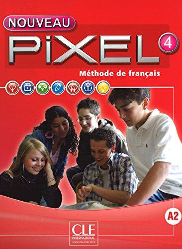 Nouveau Pixel 4 - Niveau A2 - Livre + DVD