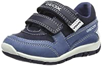 Geox Baby Boys�?? B Shaax B Walking Shoes, Blue (Dk Blue/Navyc4Mf4), 21 UK