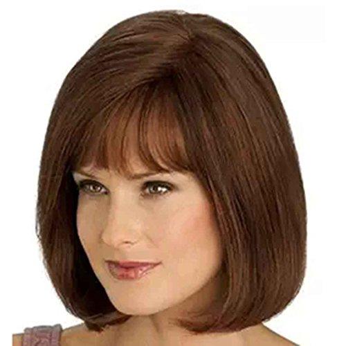rze glatte Haare Perücken Frauen Damen beliebte Cosplay Perücke ()