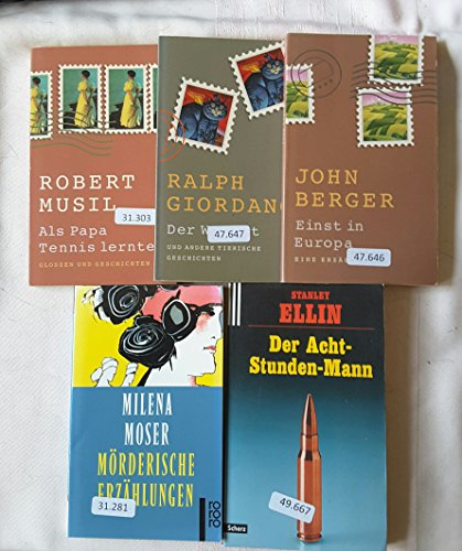 Glossen und Geschichten in 5 Büchern zum Schmöckern - 5 Glossen