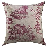 Best Better Homes and Gardens Bath Pillows - Mugod Pillow Case Classic Old Town Village Scenes Review