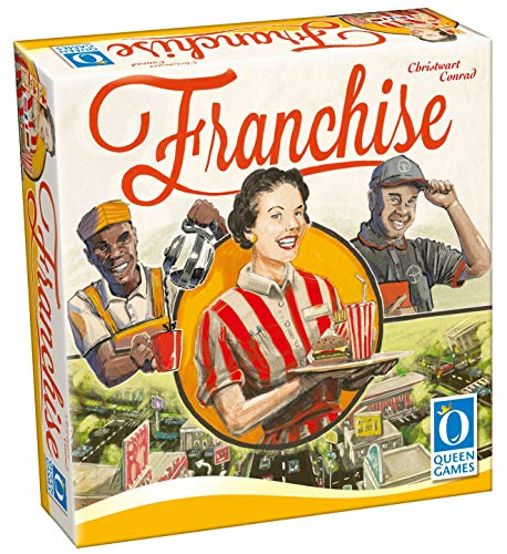 Queen Games 10321 - Franchise