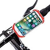 Supporto Per Telefono Cellulare, Chshe Holder, Supporto Per Bicicletta Per Bici Da Moto, Supporto Per Telefono Con Caricatore Per Cellulare Usb (Rosso)