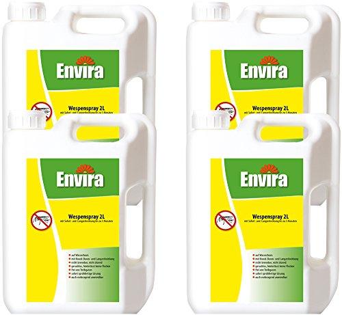 ENVIRA Wespenschutzspray 4x2Ltr
