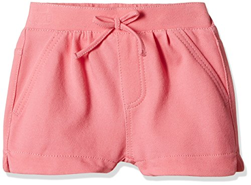 Fox Baby Girls' Shorts  (Pink Melange_18-24 months_310543)