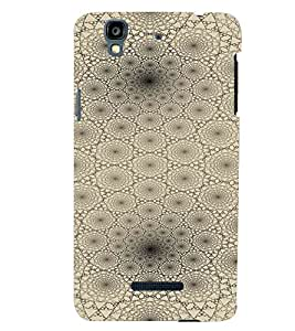 PrintVisa Modern Art Web Pattern 3D Hard Polycarbonate Designer Back Case Cover for YU Yurekha
