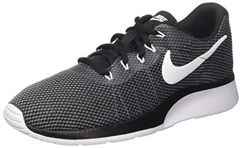 Nike Herren Tanjun Racer Gymnastikschuhe, Mehrfarbig (Dark Grey/White/Black), 44.5 EU (Dunk-mann-schuhe)