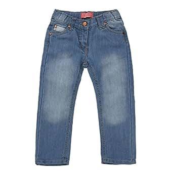 Mädchen Jeans, Mädchen Hose Jeans Funky Diva 5 Pocket Jeans, Blau, in Größe 110/116