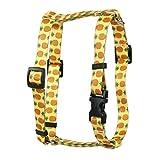 Yellow Dog Design Ananas gelb Römischer Stil H Hundegeschirr