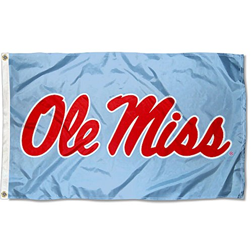 nners Co. Mississippi Rebels Powder Blue Flagge ()